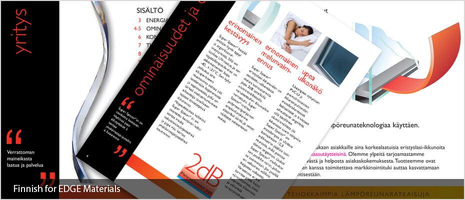 Finnish desktop publishing DTP