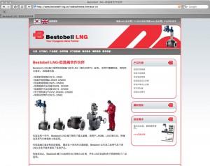 Chinese website translation