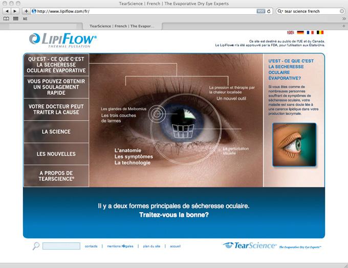 medical website translation