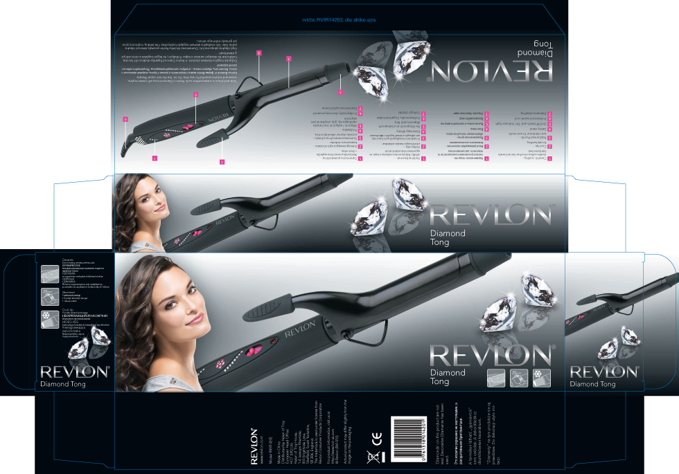 Multilingual packaging for Revlon through their Sheffield Agency