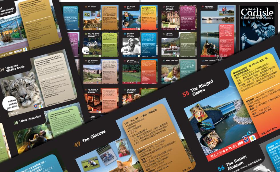 Tourism Translation typesetting example